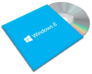 Диск с Windows 8