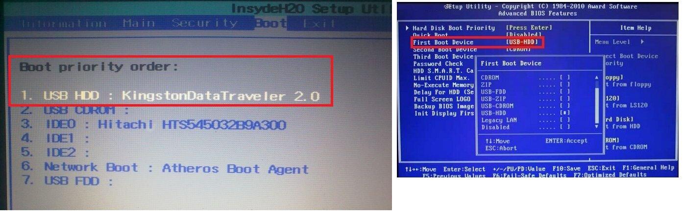 Как сделать windows 7 биос 724