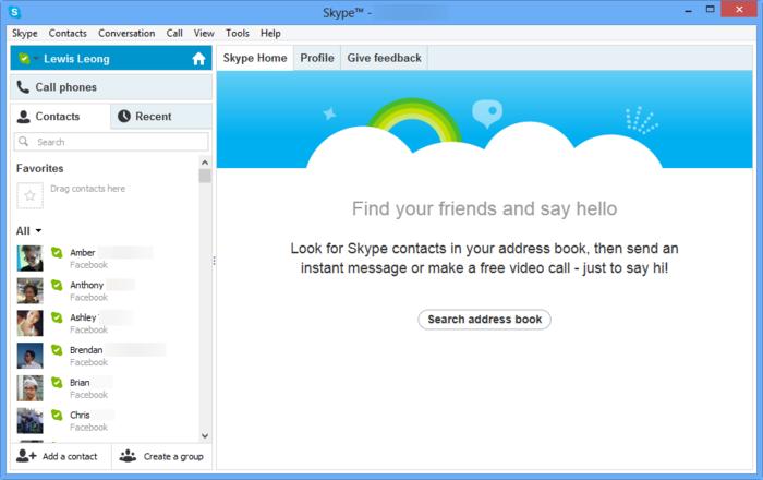 Скачать бесплатно программу скайп для виндовс 8