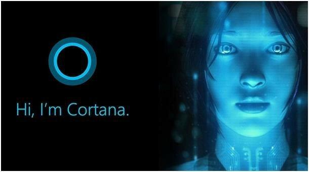 Привет, я Кортана