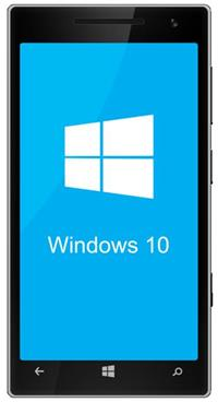 Телефон с Windows 10