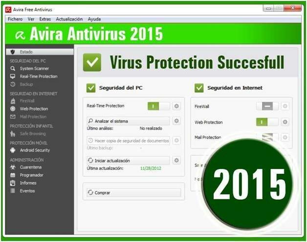 Avira Antivirus Free 2015