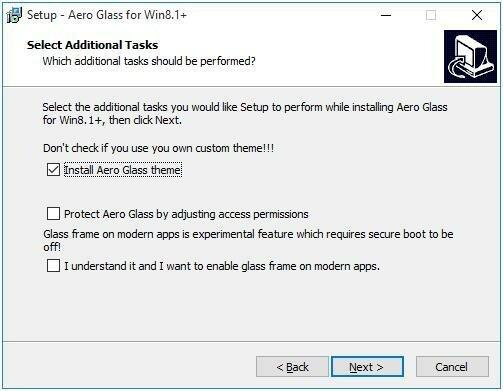 Установка Aero Glass для Win8.1