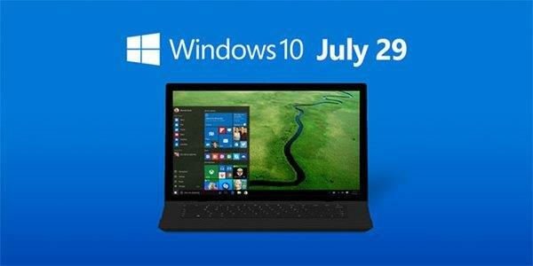 Windows 10 July 29