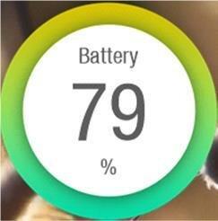 Виджет батареи
