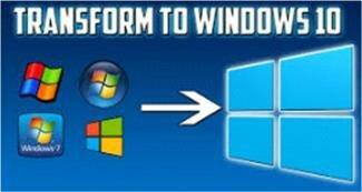 Transform to windows 10