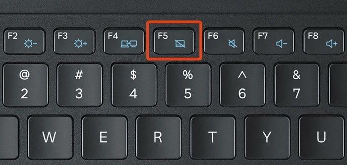 Клавиша F5