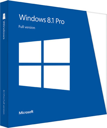 Windows 8.1 Pro Box