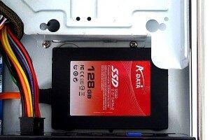 Установка ssd диска в корпус