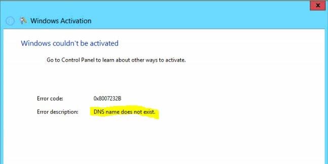 Windows не может быть активирована