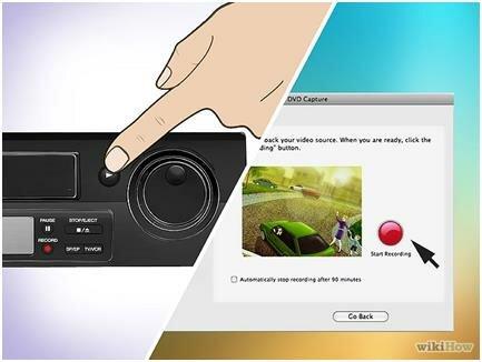 Запись видеокассеты в файл