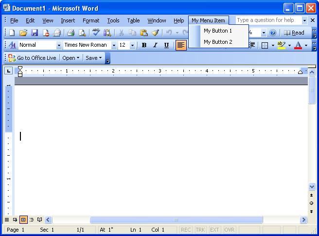 Word из MS Office