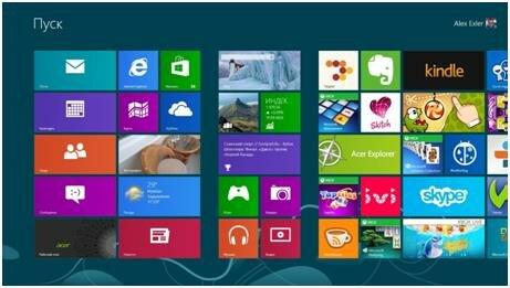 Metro в Windows 8