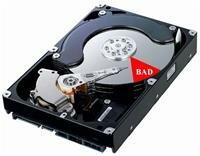 Неисправный диск