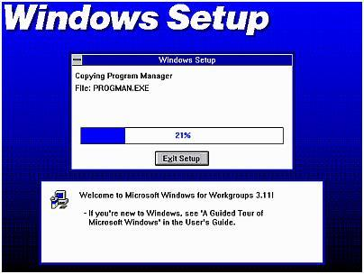 Windows Setup