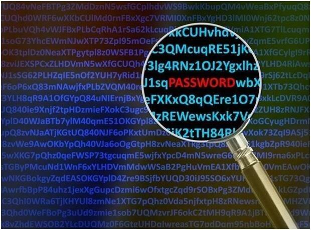 Сканрование пароля