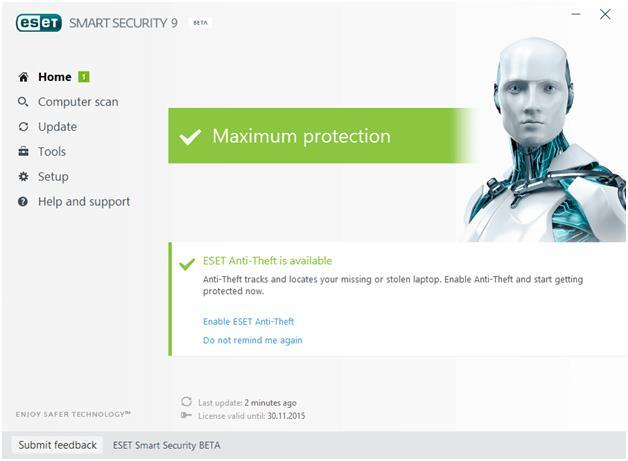 ESET NOD32 Smart Security 9