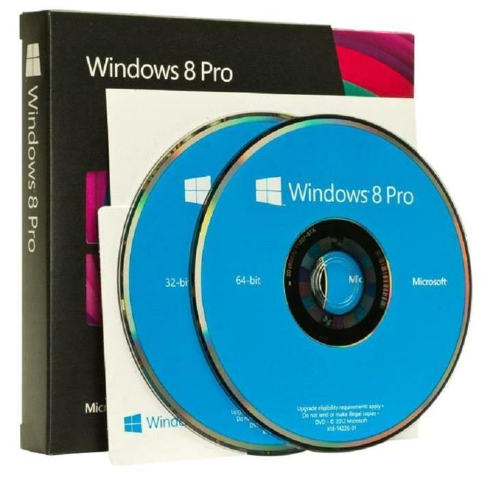 Коробочная Windows 8