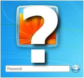 Вопрос «как поставить пароль»