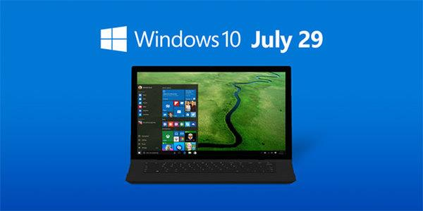 Windows 10 July 29
