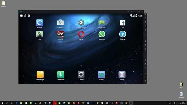 Интерфейс Android