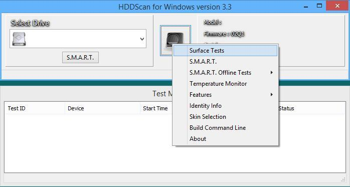HDD Scan